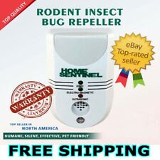 HOME SENTINEL ultrasonic pest rodent insect bug rat CONTROL REPELLENT REPELLER