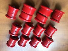 Nissan Pulsar GTi R Rear Track Arms And Trailing Arm Bushes -Polyurethane RED