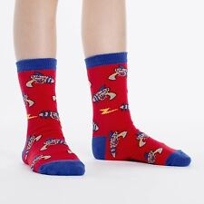 Sock It To Me Junior Crew Socks - Rayguns - Age: 7-10
