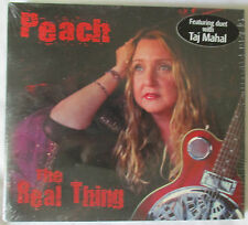 "PEACH ""THE REAL THING"" CD WITH TAJ MAHAL - BRAND NEW AND FACTORY SEALED"