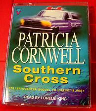 Patricia Cornwell Southern Cross Judy Hammer 2-Tape Audio Book Lorelei King