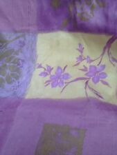 Vintage Fabric Sale Purple Patchwork Quality Cotton Sateen Curtain Fabric 5Mtr