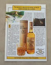 F006 - Advertising Pubblicità - 1985 - GLEN DEVERON WHISKY DI MALTO
