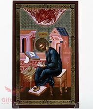 "Christian Wooden Icon of Saint Mark the Evangelist Апостол Марк 4.6"" x 7.5"""
