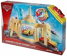 Disney Pixar Cars Color Change Ramone's House of Body Art Auto Shop Playset