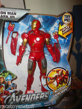 REPULSOR STRIKE IRON MAN MARK VII, WITH MISSILE LAUNCHER & BATTLE SOUNDS