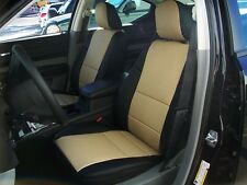DODGE CHARGER 2011-2014  IGGEE S.LEATHER CUSTOM SEAT COVER 13COLORS AVAILABLE