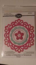 sizzix thinlits Frame Layer & Flower #2 4 die set  by Rachael Bright RRP £14.99