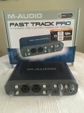 M-Audio Fast Track Pro Digital Recording Interface with Box