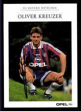 Oliver Kreuzer Autogrammkarte Bayern München 1996-97 Original Signiert +C 152