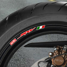 APRILIA SXV WHEEL RIM STICKERS - 450 550 5.5
