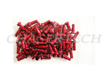 "New MTB Road BMX Bike 7075 Alloy Spoke Nipples 2.0mm 14G 1/2"" 72 Pcs Red"