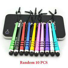 New 10Pcs Metal Stylus Screen Touch Pen For iPhone IPad Tablet PC Samsung HTC