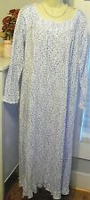 NWT Small S Eileen West Nightgown NEW Dreamtime Jersey Knit 100% Cotton Gown