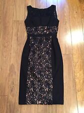 BLACK HALO Wyatt Lace Dress Size 2