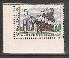 Czechoslovakia #2882 (A1053) VF MINT NH - 1993 5k Sacred Heart Church, Prague