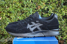 ASICS GEL LYTE V 5 SZ 8 TRIPLE BLACK H5M4L 9090