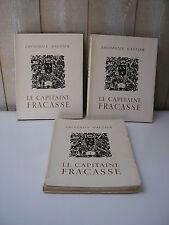 Théophile Gautier : le CAPITAINE FRACASSE avec illustrations de Lucien Boucher