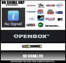 Nessun segnale FIX valore Openbox libertview riparazione modello modello di alta qualità