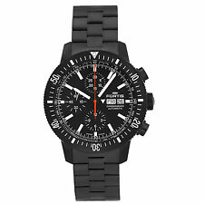 Fortis Official Cosmonauts Monolith Chronograph Men's Swiss Watch 638.18.31.M