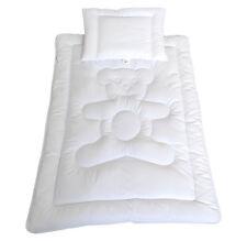Bärchen Bettdecke Kinder Baby Set Steppbett+Kissen 100x135cm/40x60cm Kinderdecke