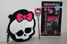 Monster High Pencil Case, Study Set and Pencil Lot
