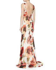 Haute Hippie Floral Sleeveless Party Gown Maxi Dress Dolce & Gabbana  6  $895