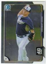2015 Bowman Draft Picks Chrome Prospect #127 Zech Lemond Padres