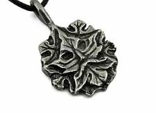 Green Man - God of the Vegetable World, Pendant with Cord Necklace #NI-EIR568