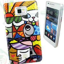 Pellicola+Custodia cover HAPPY FISH per Samsung Galaxy S2 i9100 NUOVA