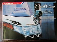 BROCHURE CATALOGUE 1996 MOTO HONDA GOLDWING GL 1500 SE & ASPENCADE