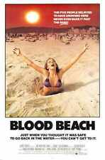 Blood Beach Poster 01 A4 10x8 Photo Print