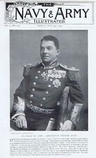 Vice Admiral Sir John Arbuthnot Fisher - Antique Photographic Print 1896