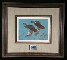 1980 Delaware Waterfowl Stamp Print by Ned Mayne First Edition 1925/1980