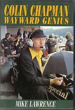 Colin Chapman Genio ribelle da Mike Lawrence 2002 LOTUS FRED bushell DeLorean