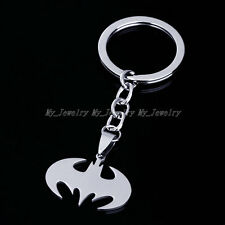 Superhero Movie Batman Stainless Steel Key Chains Keychain Ring Keyfob Keyrings