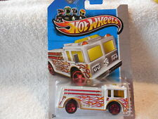 2013 HOT WHEELS TREASURE HUNT #19 FIRE EATER HW CITY RESCUE