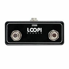 Loopi Strymon 2 Button Aux Multiswitch Foot Switcher - Loopi Pedals