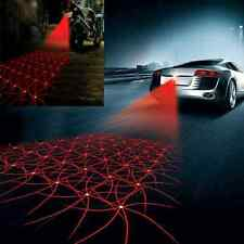 Fun Car Cool Anti-Collision End Rear Tail Fog Driving Laser Caution Light FT