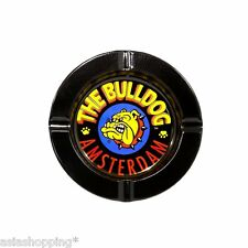★POSACENERE IN METALLO THE BULLDOG TIN ASHTRAY NERO BULP0S005★