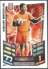 TOPPS MATCH ATTAX 2012-13- #237-STOKE CITY-ASMIR BEGOVIC