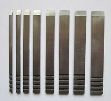 Ray Iles Edge Tools set of 8 repl. cutters for Record 044 plough plane (RI012)