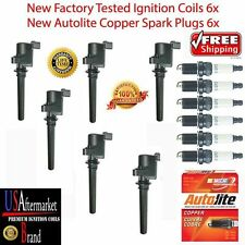 Ignition coil spark plug kit for 2001 Mazda Tribute 3.0L 6&6 Autolite