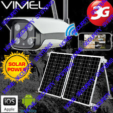Home Security Camera Solar 3G GSM Wireless Alarm System Farm Surveillance Phone