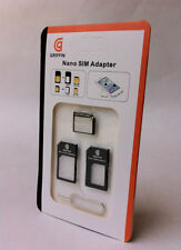 SIM Card Converter Adapter Kit for Nano to Micro, Nano and Micro to Standard
