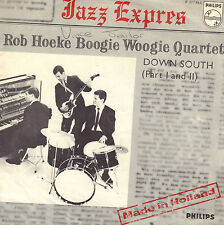 "ROB HOEKE BOOGIE WOOGIE QUARTET ‎– Down South (Deel 1 & 2) (1965 SINGLE 7"")"