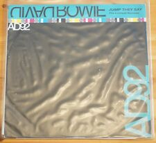 "Rare David Bowie AD92 Jump They Say Leftfield Remix 33 RPM 12"" 4 Track DJ Promo"
