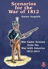 SCENARIOS FOR THE WAR OF 1812 - PARTIZAN PRESS - WARGAMES - NAPOLEONIC