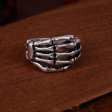Jewelry Charm 316l stainless steel Fashion Punk design Bone ring US size10 G45