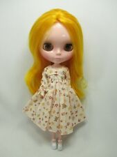 Outfit Clothing costume Handcrafted long sleeve dress for Blythe doll 99-3